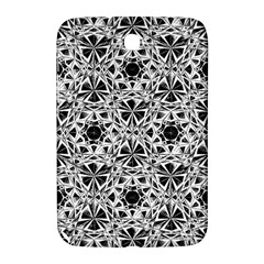 Star Crystal Black White 1 And 2 Samsung Galaxy Note 8 0 N5100 Hardshell Case  by Cveti