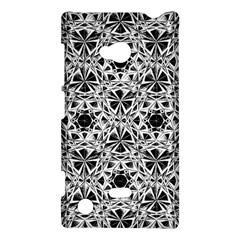 Star Crystal Black White 1 And 2 Nokia Lumia 720 by Cveti