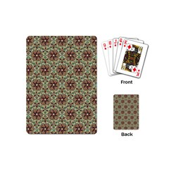 Crystal Star 1  Playing Cards (mini)  by Cveti