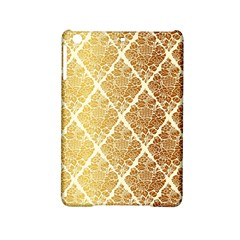 Vintage,gold,damask,floral,pattern,elegant,chic,beautiful,victorian,modern,trendy Ipad Mini 2 Hardshell Cases by 8fugoso