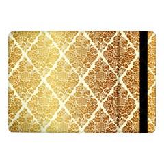 Vintage,gold,damask,floral,pattern,elegant,chic,beautiful,victorian,modern,trendy Samsung Galaxy Tab Pro 10 1  Flip Case by 8fugoso