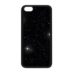 Starry Galaxy Night Black And White Stars Apple Iphone 5c Seamless Case (black) by yoursparklingshop