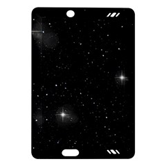 Starry Galaxy Night Black And White Stars Amazon Kindle Fire Hd (2013) Hardshell Case by yoursparklingshop