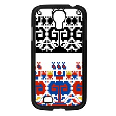 Bulgarian Folk Art Folk Art Samsung Galaxy S4 I9500/ I9505 Case (black) by Celenk