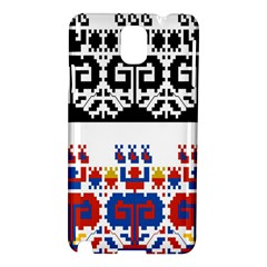 Bulgarian Folk Art Folk Art Samsung Galaxy Note 3 N9005 Hardshell Case by Celenk
