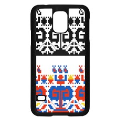 Bulgarian Folk Art Folk Art Samsung Galaxy S5 Case (black) by Celenk
