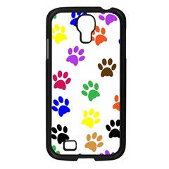 Pawprints Paw Prints Paw Animal Samsung Galaxy S4 I9500/ I9505 Case (black) by Celenk