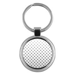 Star Pattern Decoration Geometric Key Chains (round)  by Celenk