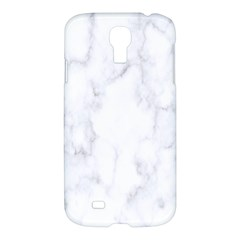Marble Texture White Pattern Samsung Galaxy S4 I9500/i9505 Hardshell Case by Celenk