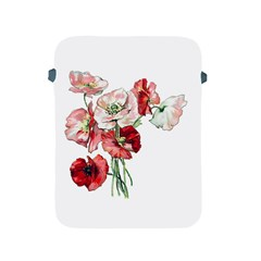 Flowers Poppies Poppy Vintage Apple Ipad 2/3/4 Protective Soft Cases by Celenk
