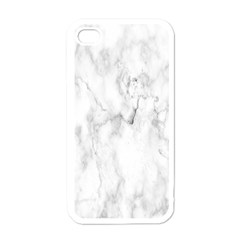 White Background Pattern Tile Apple Iphone 4 Case (white) by Celenk