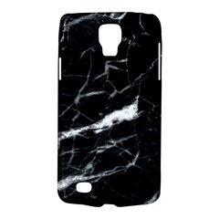 Black Texture Background Stone Galaxy S4 Active by Celenk