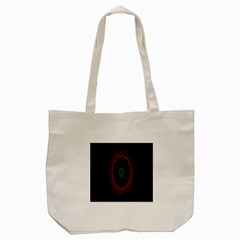 Cosmic Eye Kaleidoscope Art Pattern Tote Bag (cream) by Celenk