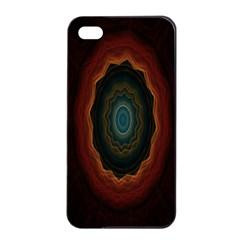 Cosmic Eye Kaleidoscope Art Pattern Apple Iphone 4/4s Seamless Case (black) by Celenk