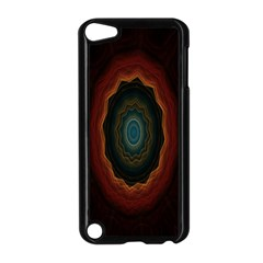 Cosmic Eye Kaleidoscope Art Pattern Apple Ipod Touch 5 Case (black) by Celenk