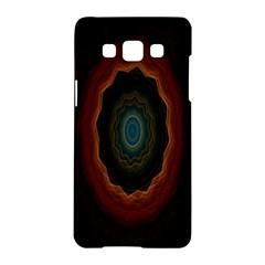 Cosmic Eye Kaleidoscope Art Pattern Samsung Galaxy A5 Hardshell Case  by Celenk