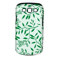 Leaves Foliage Green Wallpaper Samsung Galaxy S Iii Classic Hardshell Case (pc+silicone) by Celenk