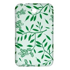 Leaves Foliage Green Wallpaper Samsung Galaxy Tab 3 (7 ) P3200 Hardshell Case  by Celenk