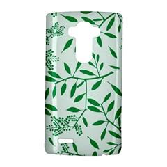 Leaves Foliage Green Wallpaper Lg G4 Hardshell Case by Celenk