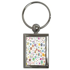 Design Aspect Ratio Abstract Key Chains (rectangle)  by Celenk