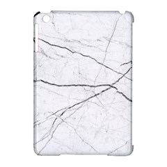 White Background Pattern Tile Apple Ipad Mini Hardshell Case (compatible With Smart Cover) by Celenk