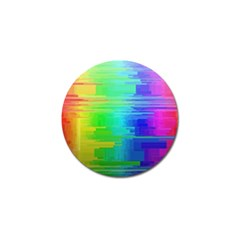 Colors Rainbow Chakras Style Golf Ball Marker by Celenk