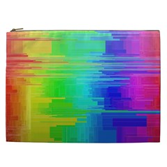 Colors Rainbow Chakras Style Cosmetic Bag (xxl)  by Celenk