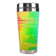 Colors Rainbow Chakras Style Stainless Steel Travel Tumblers by Celenk