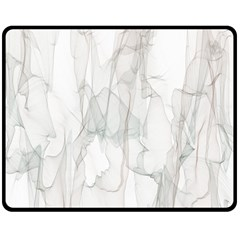 Background Modern Smoke Design Double Sided Fleece Blanket (medium)  by Celenk