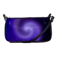 Spiral Lighting Color Nuances Shoulder Clutch Bags by Celenk