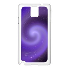 Spiral Lighting Color Nuances Samsung Galaxy Note 3 N9005 Case (white) by Celenk
