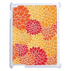 Abstract Art Background Colorful Apple Ipad 2 Case (white) by Celenk