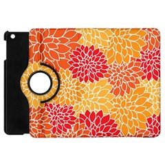 Abstract Art Background Colorful Apple Ipad Mini Flip 360 Case by Celenk