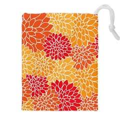 Abstract Art Background Colorful Drawstring Pouches (xxl) by Celenk