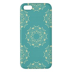 Floral Vintage Royal Frame Pattern Iphone 5s/ Se Premium Hardshell Case by Celenk