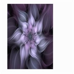 Fractal Flower Lavender Art Large Garden Flag (two Sides) by Celenk