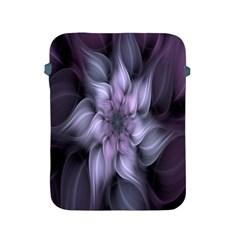 Fractal Flower Lavender Art Apple Ipad 2/3/4 Protective Soft Cases by Celenk