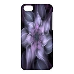 Fractal Flower Lavender Art Apple Iphone 5c Hardshell Case by Celenk