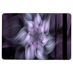 Fractal Flower Lavender Art Ipad Air 2 Flip by Celenk