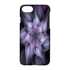 Fractal Flower Lavender Art Apple Iphone 7 Hardshell Case by Celenk