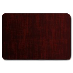 Grunge Brown Abstract Texture Large Doormat  by Celenk