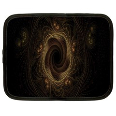 Beads Fractal Abstract Pattern Netbook Case (large) by Celenk