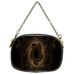 Beads Fractal Abstract Pattern Chain Purses (one Side)  by Celenk