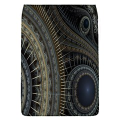 Fractal Spikes Gears Abstract Flap Covers (s)  by Celenk