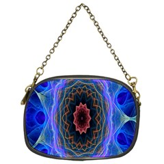 Cosmic Flower Kaleidoscope Art Chain Purses (one Side)  by Celenk