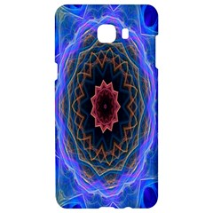 Cosmic Flower Kaleidoscope Art Samsung C9 Pro Hardshell Case  by Celenk
