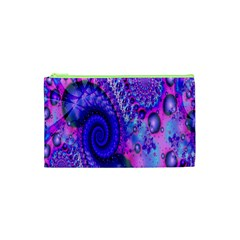 Fractal Fantasy Creative Futuristic Cosmetic Bag (xs) by Celenk