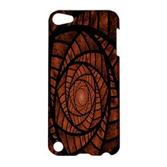 Fractal Red Brown Glass Fantasy Apple Ipod Touch 5 Hardshell Case by Celenk