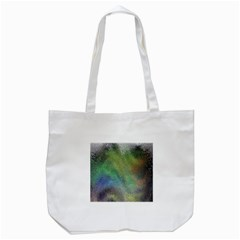 Frosted Glass Background Psychedelic Tote Bag (white) by Celenk