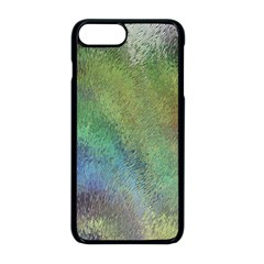 Frosted Glass Background Psychedelic Apple Iphone 8 Plus Seamless Case (black) by Celenk